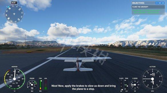 《微软模拟飞行2020》飞机怎么降落?降落按键分享