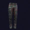 武侍耐用缝制工装裤