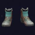 磨损的体育鞋