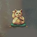 金色招财猫