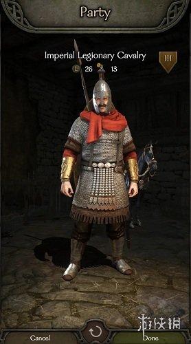 《骑马与砍杀2》帝国派系罗马军团MOD