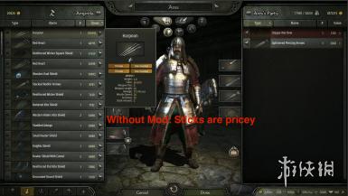 《骑马与砍杀2》武器价格优化MOD