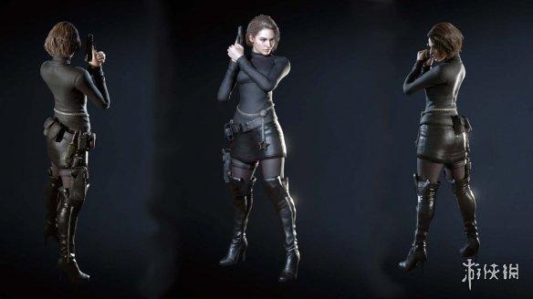 《生化危机3:重制版》吉尔黑色丝滑紧身套MOD