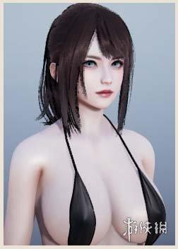 《AI少女》清凉黑色吊带泳装小姐姐MOD,ai少女清凉黑色吊带泳装小姐姐mod下载,ai少女mod下载