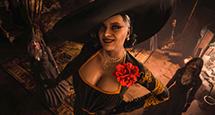吸血鬼夫人黑衣金龙服饰