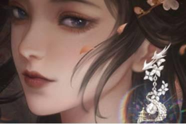 《一梦江湖》全新首饰品类上线 清辉与作耳边珰
