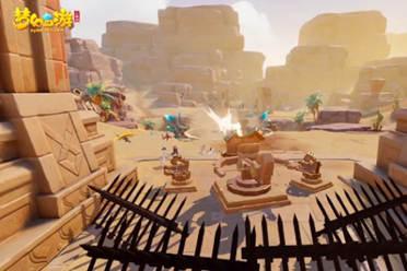 《梦幻西游三维版》狮驼古国周日开启首战 60V60新帮战玩法来袭
