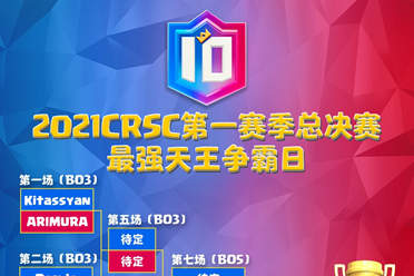中国队冲击双冠王《皇室战争》天王赛总决赛明日开战