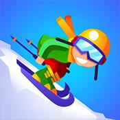 懒散的滑雪大亨