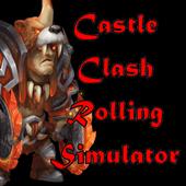 城堡冲突滚动模拟器