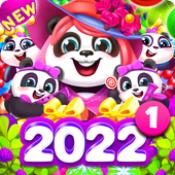泡泡射手2熊猫