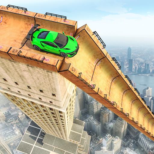 超级坡道车特技3D