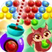 水果泡泡龙射击