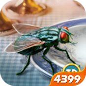 3D仿真苍蝇模拟器