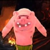 邪恶的小猪