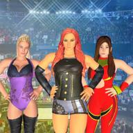 坏女孩摔跤
