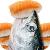 鲑鱼吃寿司