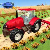 现代拖拉机耕作游戏