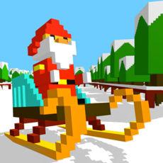 滑雪跑酷ios版