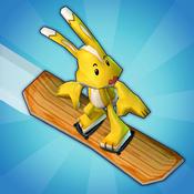 街机滑雪   Ollie and Flip
