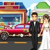 婚礼豪华轿车汽车清洁