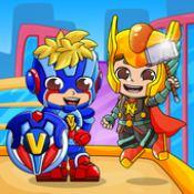 弗拉德和尼基超级英雄