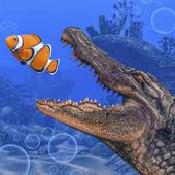 水下鳄鱼模拟器