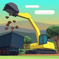 挖掘机城市模拟建设