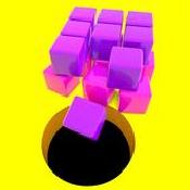 彩色方块黑洞