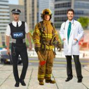 救护车紧急救援人员