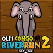 奥利刚果河奔跑