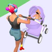 婴儿车比赛
