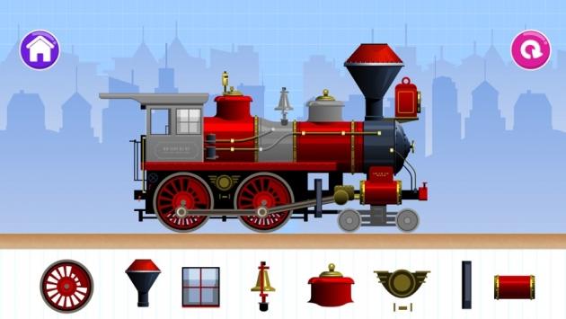 设计与运行火车截图1
