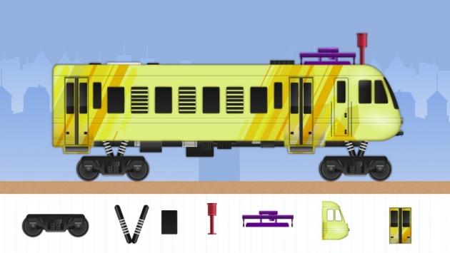 设计与运行火车截图4