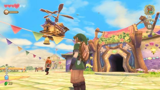 塞尔达传说御天之剑HD手机版2