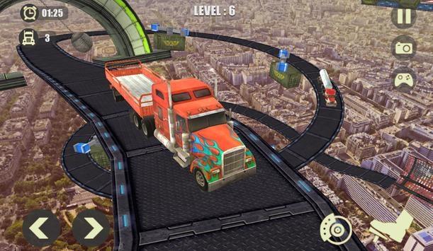 不可能的重型卡车轨道模拟器截图2