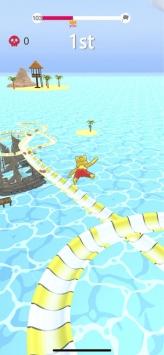 水上乐园滑梯竞速截图2