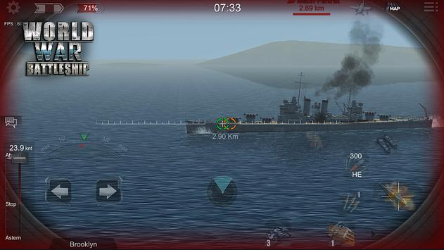 世界大战战舰破解版图3