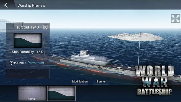 世界大战战舰破解版图4