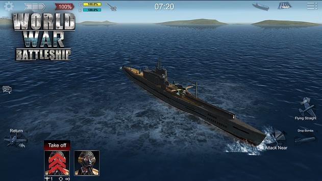 世界大战战舰破解版图5