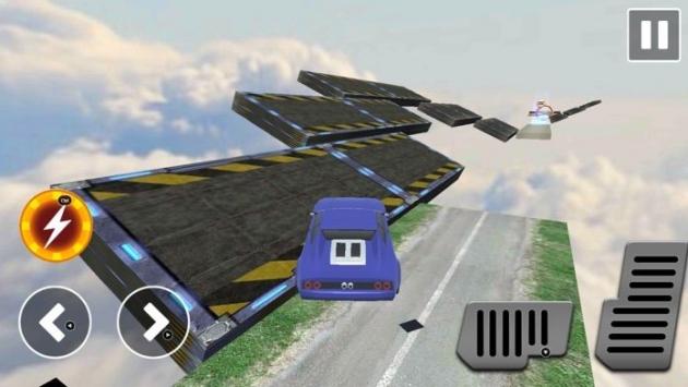 坡道赛车特技3D截图1