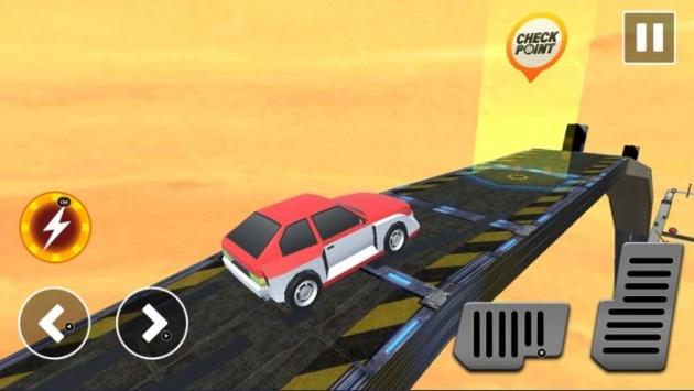 坡道赛车特技3D截图3