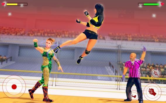 坏女孩摔跤截图1