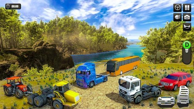 重型卡车越野牵引模拟器1