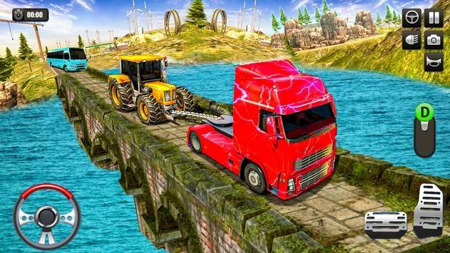重型卡车越野牵引模拟器2