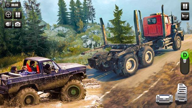 重型卡车越野牵引模拟器3