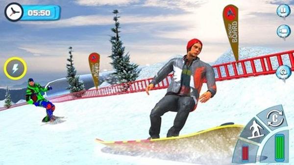 山坡滑雪截图1