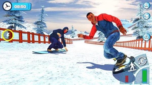 山坡滑雪截图2