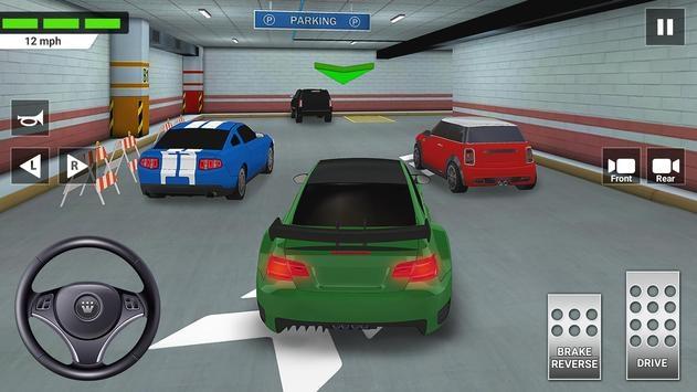城市汽车驾驶与停车学校考试模拟器截图2