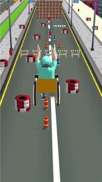 指尖节奏轮椅竞速截图3